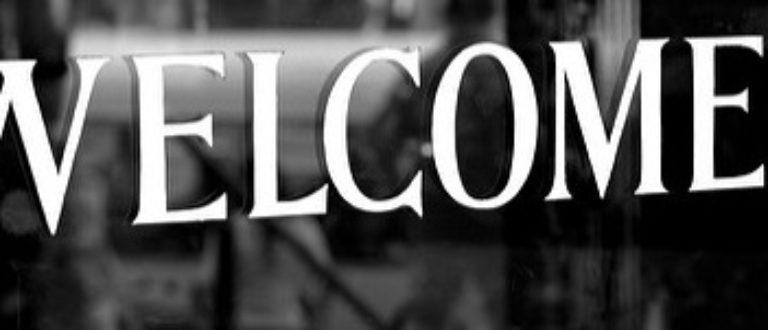 Article : Bienvenue !